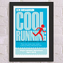 Personalised Running Print