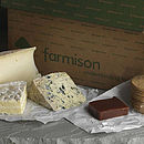 Selection Of Three British Cheeses