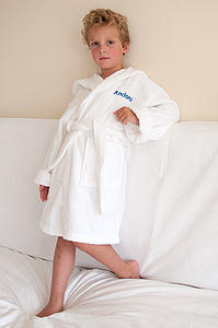 Personalised Child's Bath Robe - robes & towels