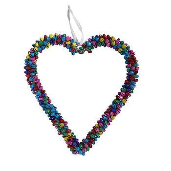 Nordal hanging bell heart Large