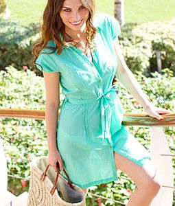 Mauritius Shirt Dress - summer clothing