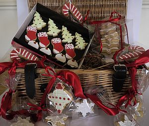 Christmas Biscuit Hamper - food & drink gifts
