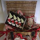 Homemade Shortbread Christmas Biscuit Hamper