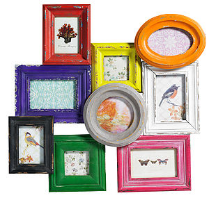 Bright Picture Frame For Wall By Nordal - picture frames