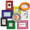 Bright Multi Picture Frame