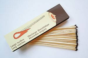 Long Matches Refill - fireplace accessories