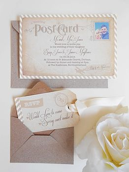 'Fly Away With Me' Invitation Set