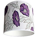 Cole And Son Poppy Wallpaper Lampshade