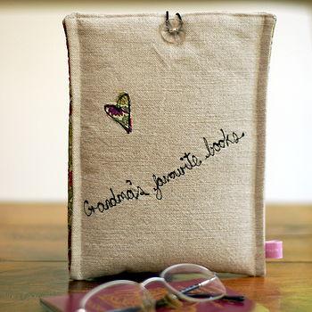 Handmade Personalised Kindle Case