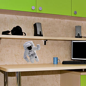 Small Astronaut Wall Sticker - office & study
