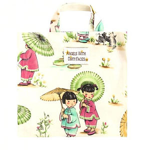 Child's Printed Oil Cloth Tote Bag
