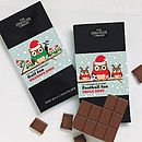 Sport Lover's Christmas Chocolate Bar