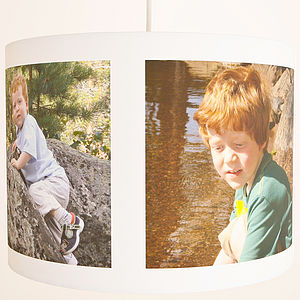 Personalised Photo Ceiling Lampshade