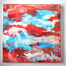 Original Abstract Canvas