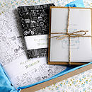 Illustration Stationery Gift Set