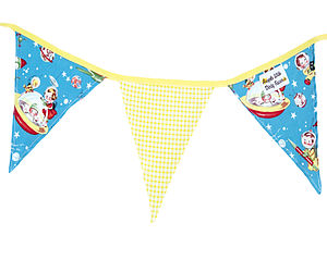 Child's Retro Themed Bunting - children's room accessories