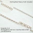 Sterling Silver Script Letter Necklace