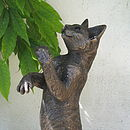 BonBon Playing Cat Sculpture