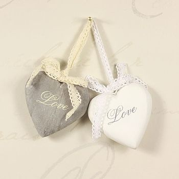 Hanging Love Heart Decoration