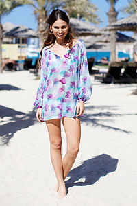 Ladies Cannes Kaftan - women's fashion