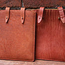 Aged Terracotta & Dark Tan Wrinkle