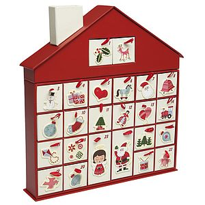 Christmas House Advent Calendar - advent calendars & countdowns