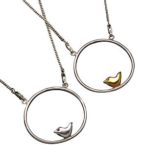 Bird On A Wire Pendant