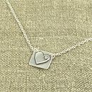 Love Fix Silver Heart Necklace