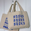 Book Lover Shopper Tote Bag