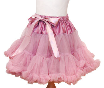 Pettiskirt Tutu In Wild Rose