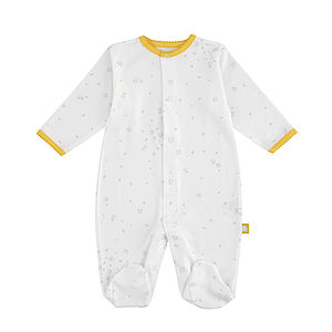 Mini Pim Printed Sleepsuit - bodysuits & all-in-ones