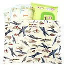 WILD BLUE YONDER NAPPY AND WIPES HOLDER