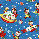 RETRO ROCKET RASCALS WOPES AND NAPPY HOLDER