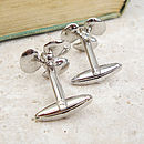 Ship Propeller Cufflinks