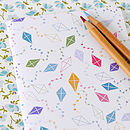 A6 kites notebook