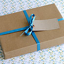 Stationery gift set wrapping