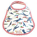 WILD BLUE YONDER OIL CLOTH BIB