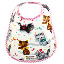 KITTY OIL CLOTH BIB