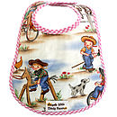 RIDEM COWGIRL OIL CLOTH BIB