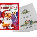 Child's Personalised Christmas Adventure Book