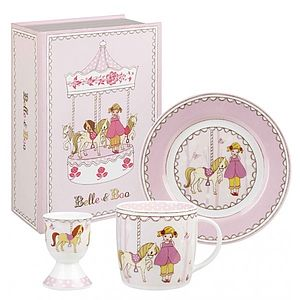 Ava And The Carousel Breakfast Set