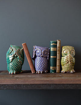 Set Of Three See No Evil Hear No Evil Owls