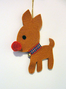 Oh Deer Christmas Tree Decoration