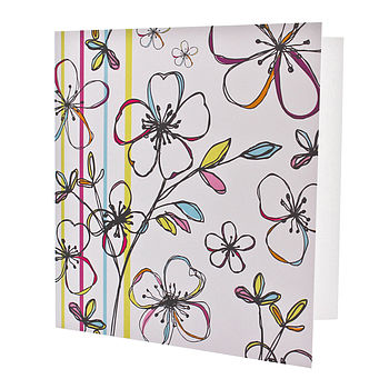 Multi Floral Card