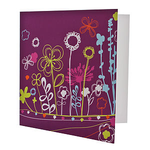 Bright Foliage Fun Card - all purpose cards, postcards & notelets