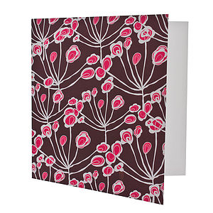 Floral Sprigs Card