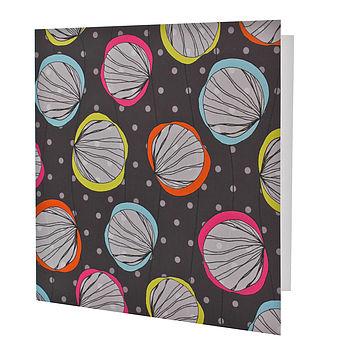 Scribble Shells Card
