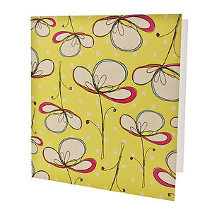 Floral Umbrellas Card