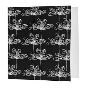Etched Floral Card