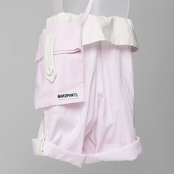 Blushed Pink with Matching Bag - Back